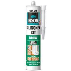 Bison siliconenkit bouw wit