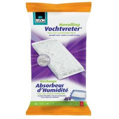 Bison vochtvreter navulling losse kristallen lavendel - 1 kg.