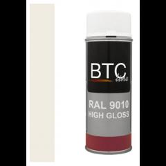 BTC alkydlak hoogglans RAL 3000 vuurrood - 400 ml.