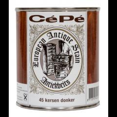 Cépé antiekbeits classic lijn nr. 45 kersen donker - 500 ml.