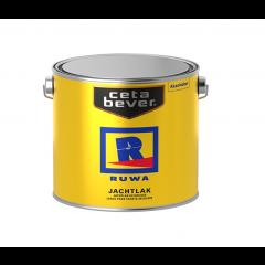 Ruwa jachtlak kleurloos - 2,5 liter