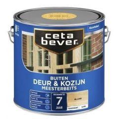 Cetabever deur & kozijn meesterbeits transparant glans blank - 2,5 liter
