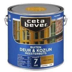 Cetabever deur & kozijn meesterbeits transparant glans licht eiken - 2,5 liter