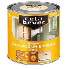 Cetabever deur, kozijn & meubelbeits transparant zijdeglans blank 0103 - 750 ml.