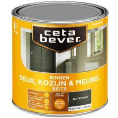 Cetabever deur, kozijn & meubelbeits transparant zijdeglans black wash 0597 - 250 ml.