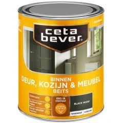 Cetabever deur, kozijn & meubelbeits transparant zijdeglans grijs 0592 - 750 ml.