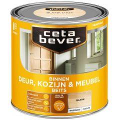 Cetabever deur, kozijn & meubelbeits transparant zijdeglans blank 0103 - 250 ml.