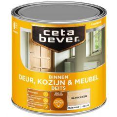 Cetabever deur, kozijn & meubelbeits transparant zijdeglans blank eiken 0104 - 250 ml.