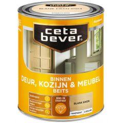 Cetabever deur, kozijn & meubelbeits transparant zijdeglans blank eiken 0104 - 750 ml.