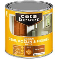 Cetabever deur, kozijn & meubelbeits transparant zijdeglans donker eiken 0109 - 250 ml.