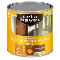 Cetabever deur, kozijn & meubelbeits transparant zijdeglans donker kersen 0135 - 750 ml.