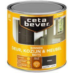 Cetabever deur, kozijn & meubelbeits transparant zijdeglans ebben 0120 - 250 ml.