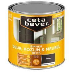 Cetabever deur, kozijn & meubelbeits transparant zijdeglans ebben 0120 - 750 ml.