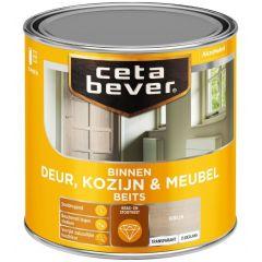 Cetabever deur, kozijn & meubelbeits transparant zijdeglans grijs 0592 - 250 ml.
