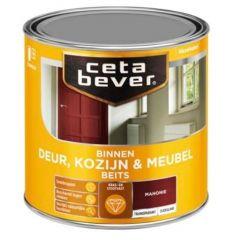 Cetabever deur, kozijn & meubelbeits transparant zijdeglans mahonie 0145 - 750 ml.