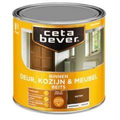 Cetabever deur, kozijn & meubelbeits transparant zijdeglans noten 0110 - 750 ml.