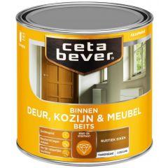 Cetabever deur, kozijn & meubelbeits transparant zijdeglans rustiek eiken 0107 - 250 ml.