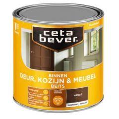 Cetabever deur, kozijn & meubelbeits transparant zijdeglans wenge 0118 - 750 ml.