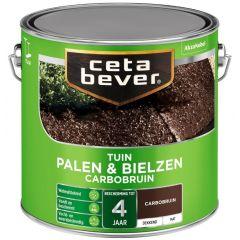 Cetabever palen & bielzen carbobruin - 2,5 liter