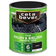 Cetabever palen & bielzen zwarte teer - 750 ml.