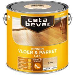 Cetabever vloer- & parketlak transparant zijdeglans blank 0103 - 2,5 liter