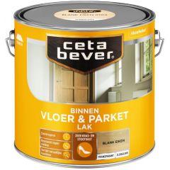 Cetabever vloer- & parketlak transparant zijdeglans blank eiken 0104 - 2,5 liter