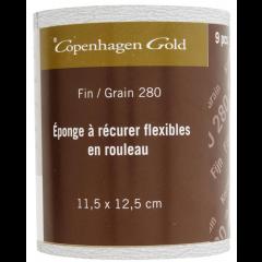 Copenhagen Gold schuurpad droog schuren korrel 280 - 11,5 x 12,5 cm (9 stuks)