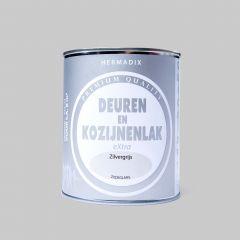 Hermadix Deur & Kozijnenlak zijdeglans zilvergrijs - 750ml