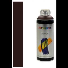 Dupli-Color platinum hoogglans lak RAL 8017 chocoladebruin - 400 ml.