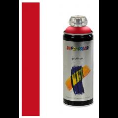 Dupli-Color platinum zijdeglans lak RAL 3020 verkeersrood - 400 ml.