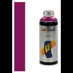 Dupli-Color platinum zijdeglans lak RAL 4006 verkeerspurper - 400 ml.