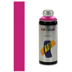 Dupli-Color platinum zijdeglans lak RAL 4010 telemagenta - 400 ml.