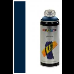 Dupli-Color platinum zijdeglans lak RAL 5003 saffierblauw - 400 ml.