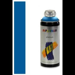 Dupli-Color platinum zijdeglans lak RAL 5015 hemelsblauw - 400 ml.