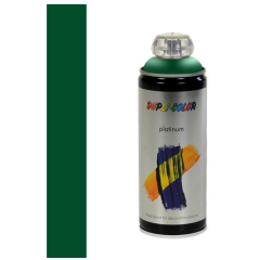 Dupli-Color platinum zijdeglans lak RAL 6002 loofgroen - 400 ml.