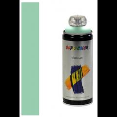 Dupli-Color platinum zijdeglans lak RAL 6019 witgroen - 400 ml.