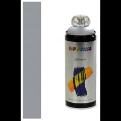 Dupli-Color platinum zijdeglans lak RAL 7001 zilvergrijs - 400 ml.