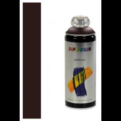 Dupli-Color platinum zijdeglans lak RAL 8017 chocoladebruin - 400 ml.