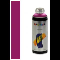 Dupli-Color platinum zijdeglans lak zwarte bes - 400 ml.