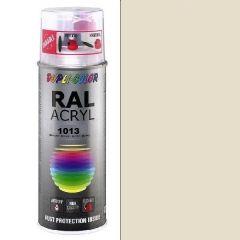 Dupli-Color acryl hoogglans RAL 1013 parelwit - 400 ml.