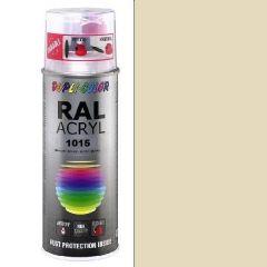 Dupli-Color acryl hoogglans RAL 1015 licht ivoorkleurig - 400 ml.