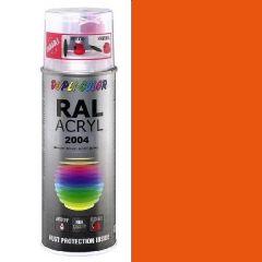 Dupli-Color acryl hoogglans RAL 2004 zuiver oranje - 400 ml.