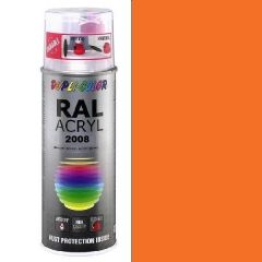 Dupli-Color acryl hoogglans RAL 2008 licht roodoranje - 400 ml.