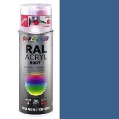 Dupli-Color acryl hoogglans RAL 5007 briljantblauw - 400 ml.