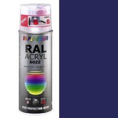 Dupli-Color acryl hoogglans RAL 5022 nachtblauw - 400 ml.