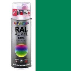 Dupli-Color acryl hoogglans RAL 6024 verkeersgroen - 400 ml.