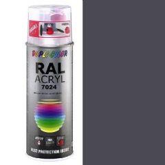 Dupli-Color acryl hoogglans RAL 7024 grafietgrijs - 400 ml.