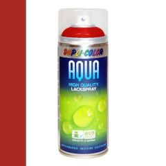 Dupli-Color aqua hoogglans lak RAL 3000 - 350 ml.