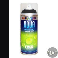 Dupli-Color aqua lak mat RAL 9005 - 350 ml.