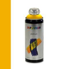 Dupli-Color platinum hoogglans lak RAL 1023 verkeersgeel - 400 ml.